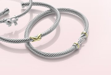 Enduring Bonds. Cable is the foundation of every David Yurman design. As a symbol of strength and continuity, it's the perfect present for the one you love. Below $500.