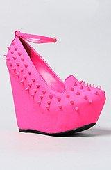 The Sakina Shoe in Fuchsia