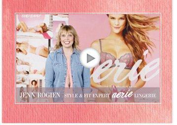 Jenn Rogien   Style & Fit Expert   Aerie Lingerie