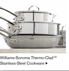 Williams-Sonoma Thermo-Clad™ Stainless-Steel Cookware