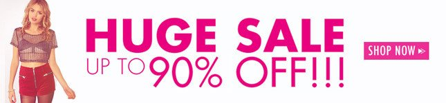 Up to 90% OFF Sale Continues on Miss KL!
