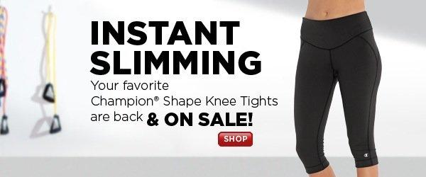 SHOP Champion Shape(R) Knee Tights