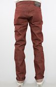 <b>Naked & Famous</b><br />The Weird Guy Pants in Pomegranate Selvedge