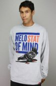<b>Entree</b><br />Entree LS Melo Stat Of Mind Heather Gray Crew
