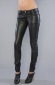<b>Tripp NYC</b><br />The Deville Pleather Pant
