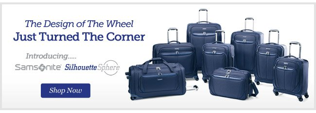 The Design of the Wheel Just Turned the Corner   Introducing Samsonite Silhouette Sphere   Shop Now