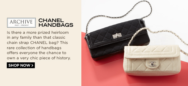 ARCHIVE: CHANEL HANDBAGS, Event Ends February 11, 9:00 AM PT >