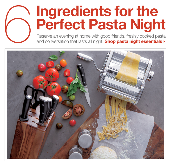 6 Ingredients for the Perfect Pasta Night