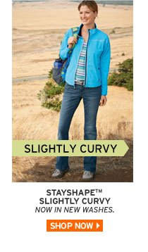 Shop Slightly Curvy Fit Jeans