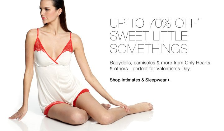 Up To 70% Off* Sweet Little Somethings