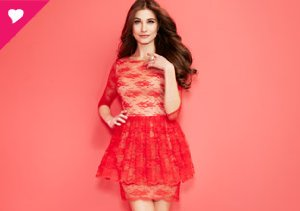Color Story: Champagne & Strawberry Dresses