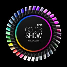 New Color Show Nail Laquer Color Wheel