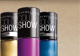 Color Show Nail Laquer (set of 3)