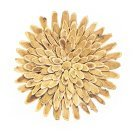 Mulberry Wood Flower Disc