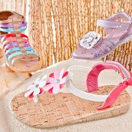 Spring Break Escape: Kids' Footwear