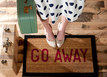 A Warm Welcome Mats for the Front Door