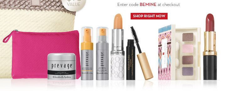 Enter code BEMINE at checkout. SHOP RIGHT NOW.