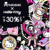 tokidoki for Hello Kitty up to 30% off!