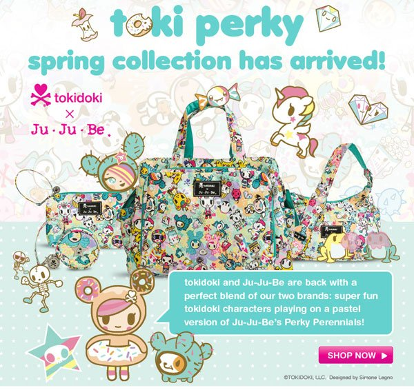toki perky spring collection has arrived!