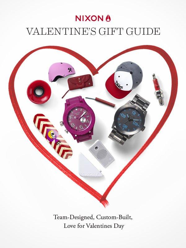 2013 Nixon Valentine's Gift Guide