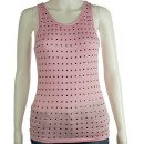 Crazy Cowgirl Women's Studded Tank Top