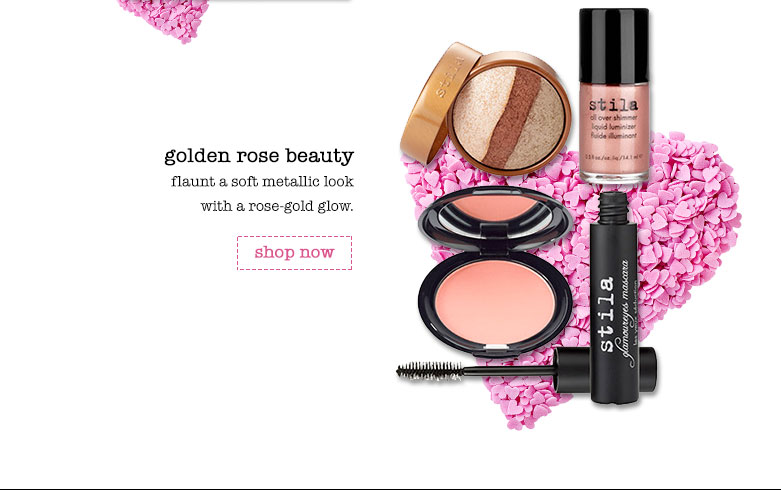 stila's valentine's day gift sets and looks