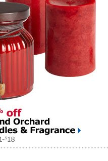 20% off Island Orchard Candles & Fragrance Reg $1-$18