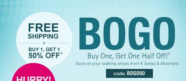 BOGO Sale On K-Swiss+ More!