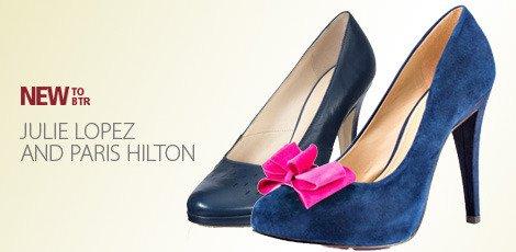 Julie Lopez and Paris Hilton
