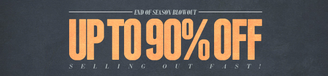 Up to 90% OFF End of Season Sale! Shop KL Now!