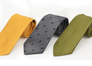 Les Copains Ties. Made In Italy