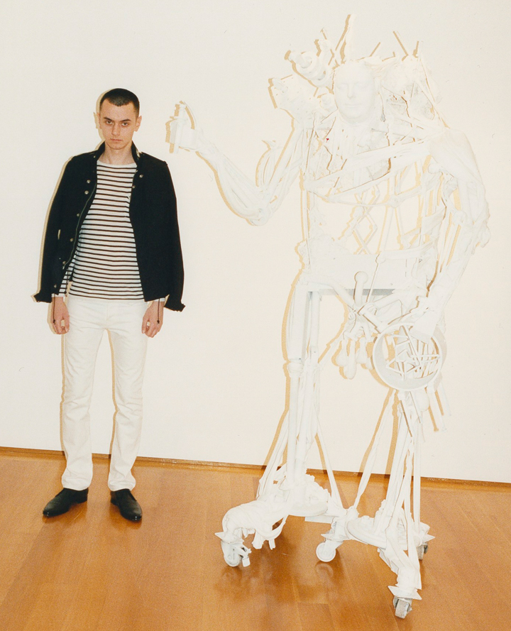 Shop the highly-anticipated debut Saint Laurent collection by designer Hedi Slimane.
