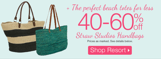 The Perfect Beach Totes For Less