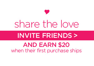 SHARE THE LOVE - INVITE FRIENDS