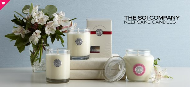 THE SOI COMPANY: KEEPSAKE CANDLES, Event Ends February 9, 9:00 AM PT >