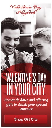 Gilt City Valentines Day