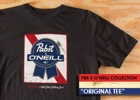 O'Neill / Pabst Blue Ribbon - Original Tee!