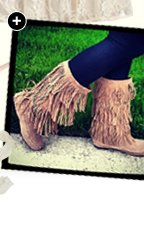 Tiered Fringe Boot