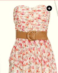 Sweetheart Floral Mesh Dress