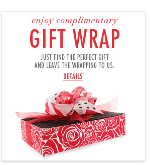 Complimentary gift wrap*