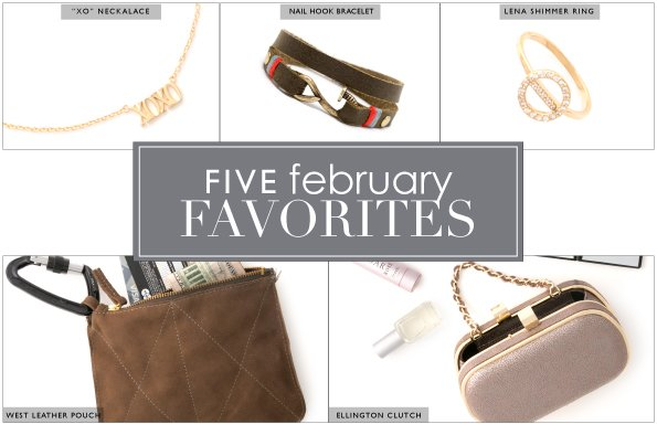 Five Favorites of February