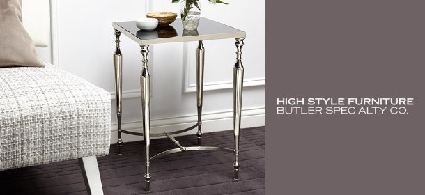 HIGH STYLE FURNITURE: BUTLER SPECIALTY CO., Event Ends February 10, 9:00 AM PT >