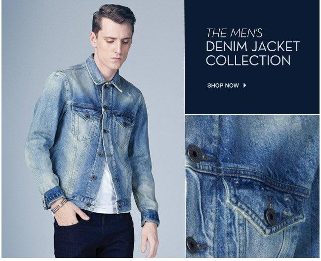 The Men's Denim Jacket Collection