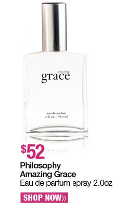 Philosophy Amazing Grace Eau de parfum spray 2.0 oz. - $52. Shop Now.