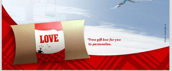 LOVE - *Free gift box for you to personalize