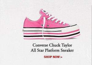 CONVERSE CHUCK TAYLOR ALL STAR PLATFORM SNEAKER | SHOP NOW