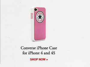 CONVERSE iPHONE CASE FOR iPHONE 4 AND 4S | SHOP NOW