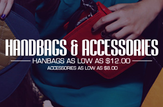 For The Ladies: Handbags & Accessories