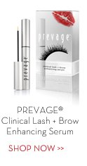 PREVAGE® Clinical Lash + Brow Enhancing Serum. SHOP NOW.