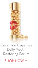 Ceramide Capsules Daily Youth Restoring Serum. SHOP NOW.